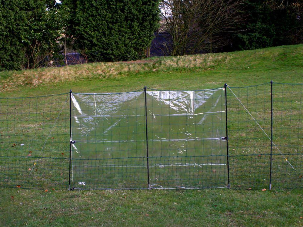kit b che transparente pour filet poules omlet b ches de protection climatique pour eglu. Black Bedroom Furniture Sets. Home Design Ideas