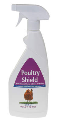 Spray Poultry Shield - Prêt à l'emploi - Biolink