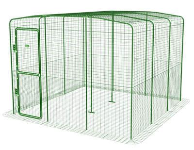 grand enclos pour poules levage des poules omlet. Black Bedroom Furniture Sets. Home Design Ideas