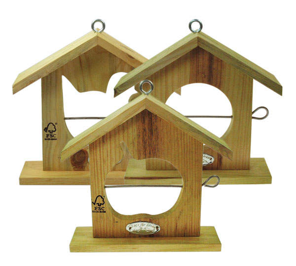This Apple Feeder Provides Hours Of Fun For Your Chickens For Birds