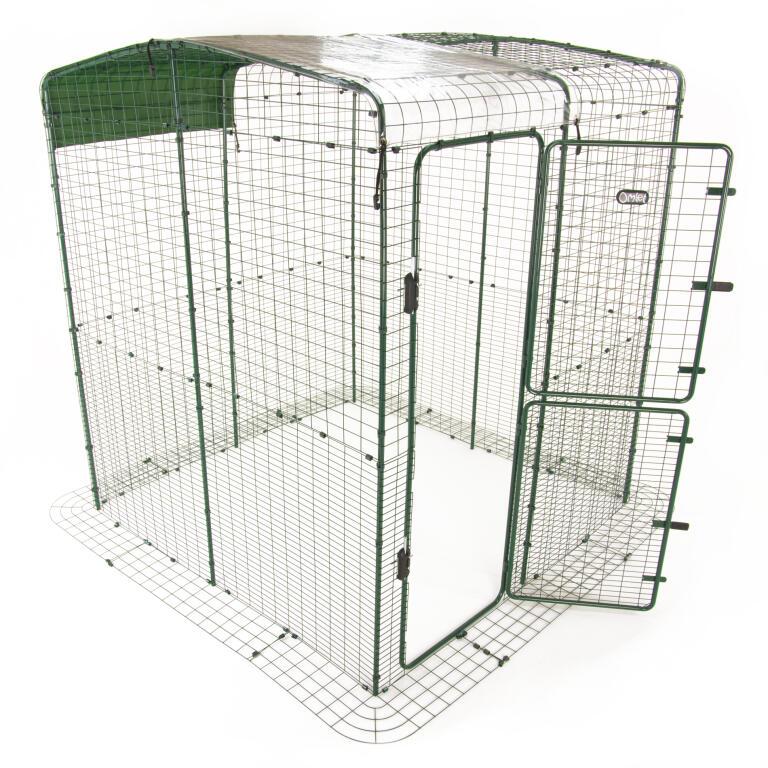 Bâche De Protection Semi Transparente Semi Opaque Pour Grand Enclos