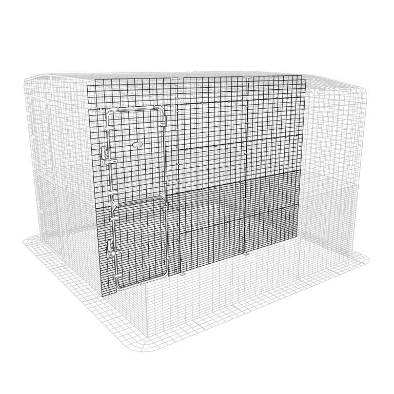 S paration int rieure pour grand enclos pour chats - Panneaux de separation pour exterieur ...