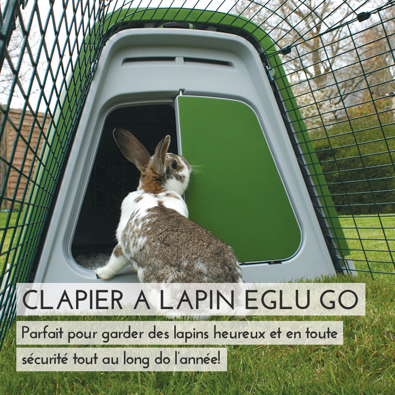 Main Eglu Go Rabbit Hutch Mobile FR