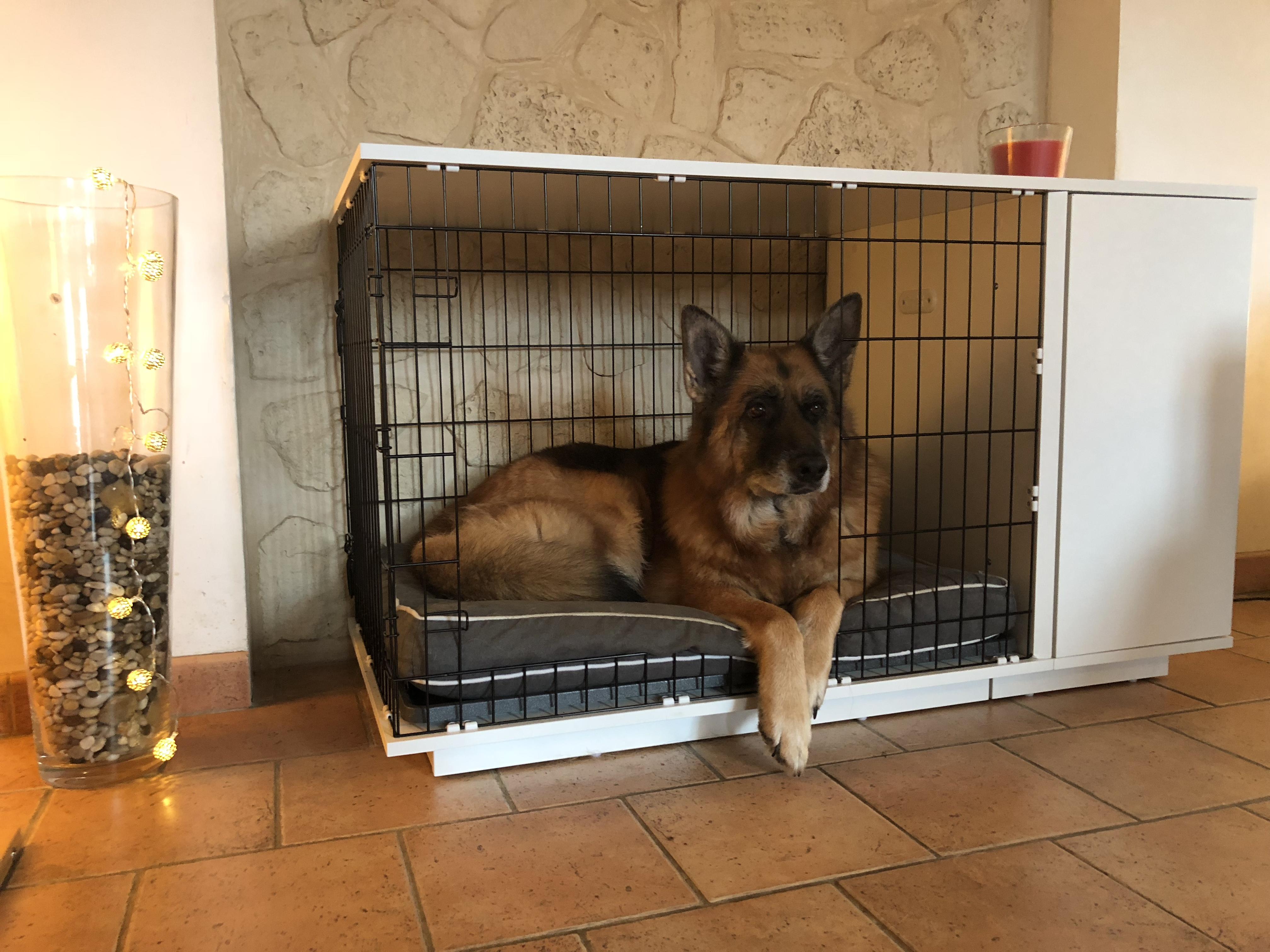 Avis client pour niche d int rieur pour chiens fido studio - Niche d interieur pour chien ...