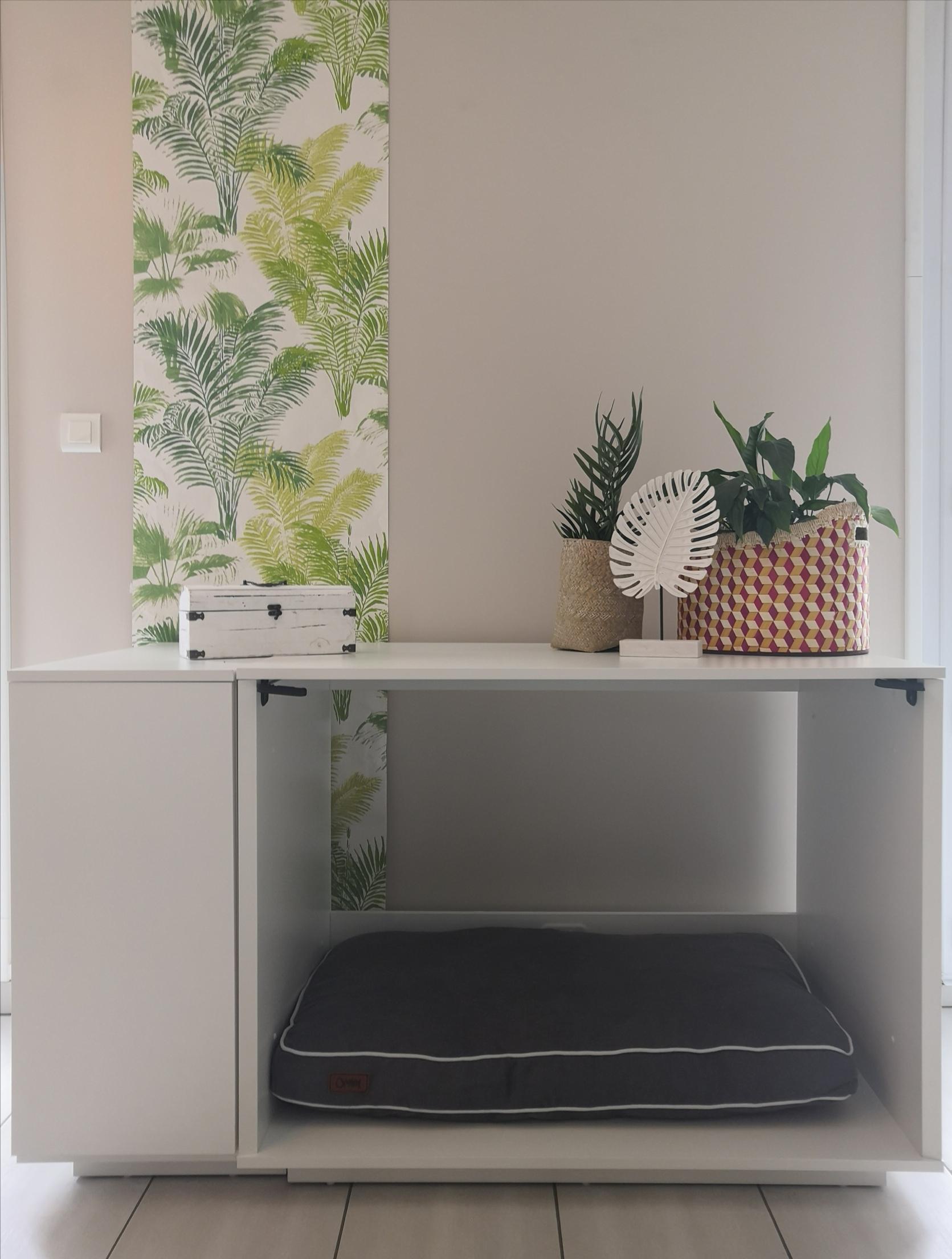 omlet niche d int rieur pour chiens 2 en 1 fido nook d 39 omlet. Black Bedroom Furniture Sets. Home Design Ideas