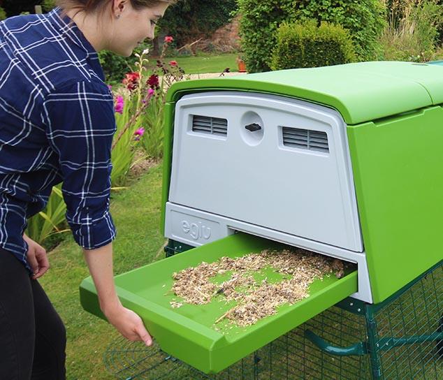 Nouveau grand poulailler eglu cube levage des poules - Poulailler en kit plastique ...